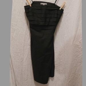 Merona Collection Black Strapless Dress